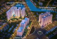 Căn hộ Diamond Riverside (City Gate II) đường Võ Văn Kiệt - Q.8, gần cầu Rạch Cây, giá 1 tỷ 400tr