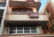 Bán nhà mặt tiền đường Bà Huyện Thanh Quan, P6, quận 3, 4 lầu cho thuê 90tr, DT 4.3 x 18m