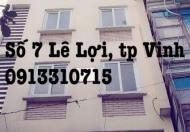 Cho thuê văn phòng mặt đường Lê Lợi, TP Vinh, Nghệ An giá 6,5 triệu/tháng 120m2