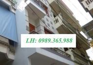 Nhà A7 ngõ 106 Hoàng Quốc Việt, DT: 60m2 x 4T, giá: 15tr /th