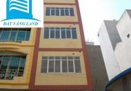 Nhà mặt phố Trần Vĩ làm VP, lớp học, XKLĐ. DT: 62m2 x 5,5T, giá: 30tr/th