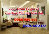 Cho thuê CH Eurowindow- Trần Duy Hưng, DT 150m2 giá 16tr/th. LH: Mr. Huy 0904.600.122- 0988.989.545