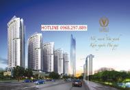 Cho thuê chung cư Văn Phú Victorria căn vuông số 6 118m2, hướng Đông Nam. LH 0968297889