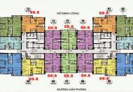 Chính chủ bán căn 1503, 60m2 CC CT36 Định Công, giá 22,3tr/m2. Cô Loan 0906255790