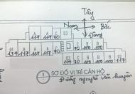 Tôi cần bán gấp CC 60 Hoàng Quốc Việt, căn tầng 1208, DT 70,31m2, giá 26tr/m2