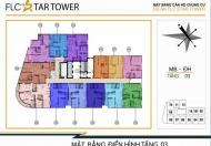 Chính chủ cần bán lại căn hộ chung cư 80m2, tầng 18, giá 1,4 tỷ