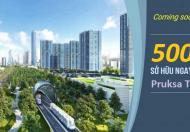 Căn hộ chung cư Pruksa Town Hải Phòng giá chỉ từ 500 triệu 2 phòng ngủ, 2 WC, lộc vàng đầu năm