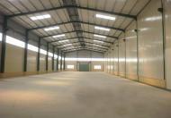 Chủ đầu tư cho thuê kho xưởng, bãi đất trống, văn phòng tổng diện tích 5000m2 tại đường 32 Cầu Diễn