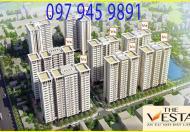 Chung cư nhà ở xã hội The Vesta giá 930tr căn 66m2, 2PN. Hỗ trợ lãi suất 5% dài hạn