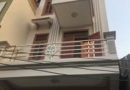 Nhà khu Bãi vượt, 3 tầng, hướng ĐB, ngõ rộng 2.5m gần trường Trần Đăng Ninh, DT 45m2, 900tr