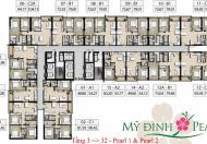 Bán căn hộ chung cư Mỹ Đình Pearl, giá rẻ, đầy đủ nội thất
