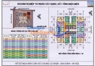 Bán cắt lỗ căn hộ 3 phòng ngủ HH2B Linh Đàm tổng 1,2 tỷ view mát