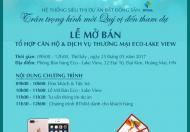 Cần bán căn góc 03 tại Eco Lake View, Hoàng Mai