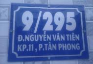 Nhà mới xây tiện nghi, giá tốt, có sân đậu xe hơi, cổng lớn gần cây xăng 26, Biên Hòa Đồng Nai