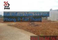 Đất thổ cư 250tr/lô hẻm 113 Giải Phóng, P Tân Thành