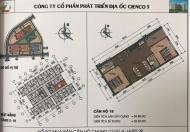 Chính chủ cần bán gấp căn 818 chung cư Thanh Hà Cienco 5 Giá chênh 9tr.