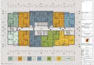 Chung cư Hồng Hà Tower - 89 Thịnh Liệt: Căn 55m2 – 56m2 – 62m2 - 82m2 tầng đẹp