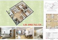 Bán căn hộ Nhà ở xã hội Hưng Thịnh, DT: 56m2, giá: 12.5tr/m2, LH: 0983.762.129