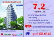 Mở bán đợt 1 căn hộ Marina Tower đối diện BVQT Hạnh Phúc, giá chỉ 700tr/căn. LH 0934.880.801