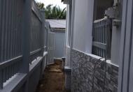 Nhà mới 1 trệt 1 lầu 2PN DT 5x20m sổ hồng riêng hỗ trợ vay