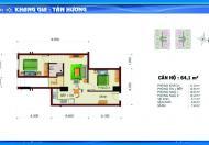 Chính chủ bán căn hộ Khang Gia Tân Hương (Lucky Apartment), căn hộ 64m2, tầng 14, view hồ bơi