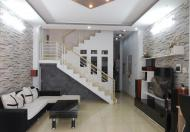 Nhà ngay UBND P16. HXH 1 trệt 2.5 lầu, 4x16m, nở hậu 4,2m