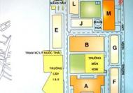 Bán căn hộ lô E, chung cư Bàu Cát 2, P. 10, Q. Tân Bình, DT 35.9m2