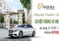 Trúng xe Mercedes và chiết khấu 5% khi mua nhà vườn Pandora đẹp nhất quận Thanh Xuân