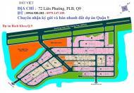 Cần bán những nền đất vị trí đẹp dự án Bách Khoa, Quận 9, sổ đỏ chính chủ