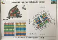 Bán kiot kinh doanh tại dự án Thanh Hà Mường Thanh Cienco 5, giá chỉ 22tr/m2