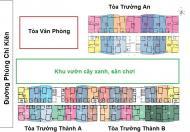 Bán chung cư Tràng An Complex, 94,4m2 tầng 12 căn 12, Tòa Ct1, gía rẻ 32tr/m2. LH 0985.752.065