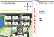 NOXH The Vesta – Phú Lãm nằm trên tuyến đường Quốc Lộ 21B.giá 13.5tr/m2