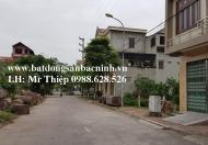 Bán lô đất tại đường Bùi Xuân Phái, Trung tâm thành phố Bắc Ninh