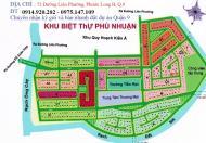 Khu dân cư Phú Nhuận- Quận 9, cần bán gấp đất nền giá tốt, vị trí đẹp, diện tích đa dạng