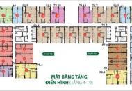 Bán căn hộ chung cư tại The Botanica, Quận Tân Bình, căn số 4, 03 mặt thoáng, 2,7 tỷ. 0936449799