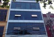 Cho thuê nhà 106m2, xd 6 tầng, mặt phố Giáp Bát, MT 5m.LH 0973948827.