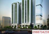 Cho thuê sàn văn phòng Ecolife Capital 58 Lê Văn Lương 100m2, 140m2, 160m2, 504m2
