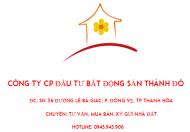 Bán nhà 2,5 tầng, phường Đông Vệ, TP Thanh Hóa