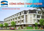 Mở bán khu nhà ở xã hội liền kề xây thô D1- Khu đô thị mới Nam- TP. Hải Dương