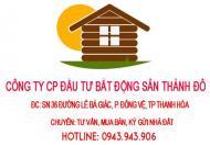 Bán đất hướng Đông Bắc MB 530 sau khách sạn Mường Thanh, phường Đông Vệ, TP Thanh Hóa