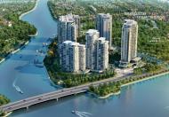 Bán căn hộ 3 phòng ngủ có sân vườn, tháp Hawaii Đảo Kim Cương, 176 m2, view sông, hồ bơi, 36 tr/m2