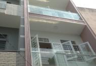 Nhà gần trường Học Lê Văn Tám đường Kênh Nước Đen, DT 4.5x12m, 3 lầu đúc, hẻm xe hơi. Giá 4.25 tỷ