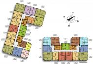 Bán căn góc 1703, 3 ngủ - ban công ĐN - Dự án Hateco, trả góp 5 năm 0%lãi suất
