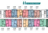 Bán căn hộ số 12 tầng đẹp CT2A Tràng An GP Complex 94.5m2,3PN, 2wc, cửa Bắc, ban công Nam, 37tr/m2