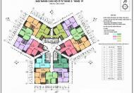 Bán căn hộ chung cư CT3 Yên Nghĩa, tầng 1207, diện tích 77,4m2, 3PN + 2WC, giá bán 12 triệu/m2