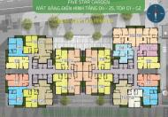 Bán cắt lỗ CC Five Star số 2 Kim Giang, DT: 72m2- G2,68m2