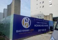 Bán 2 lô đất trên đường Phạm Văn Đồng đã xây dựng phần móng