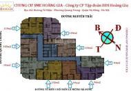 Cần tiền bán chung cư SME Hoàng Gia, Hà Đông căn góc 15C9, DT: 119m2, giá 15 triệu/m2. 0981129026