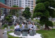 Chuyển nhượng gấp CH Park 7 officetel 17 lầu thấp- DT 56.2 m2,1PN giá 2.263 tỷ bao hết