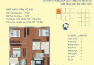 Bán suất ngoại giao căn góc A3 tầng 12, 90.23m2, 122 Vĩnh Tuy ở ngay